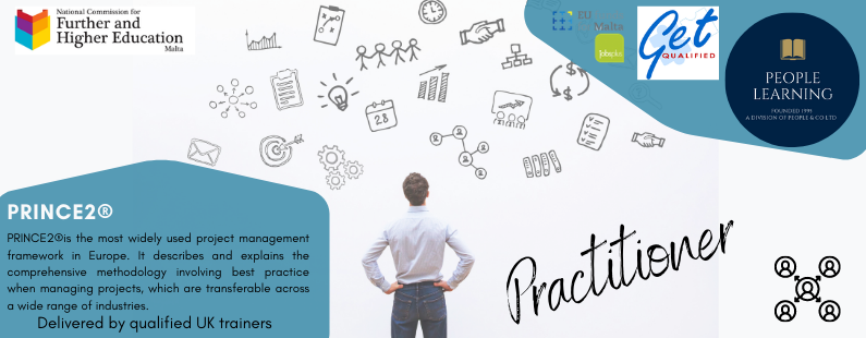People Learning Project Management PRINCE2 Practitioner Banner2