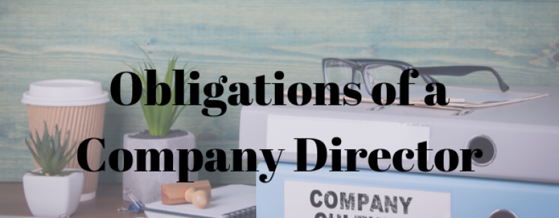 Obligations of Company Director 2 2